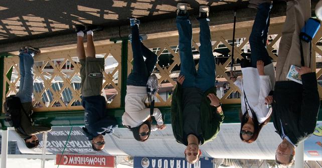 Upside-down in Australia