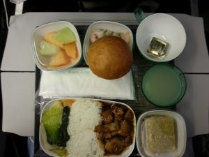 In-flight Dinner